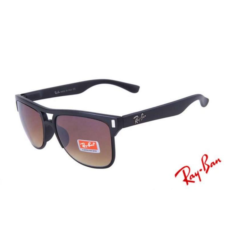 0810f27e48 Ray Ban Highstreet Gradient RB4147 Brown Black Sunglasses Copy