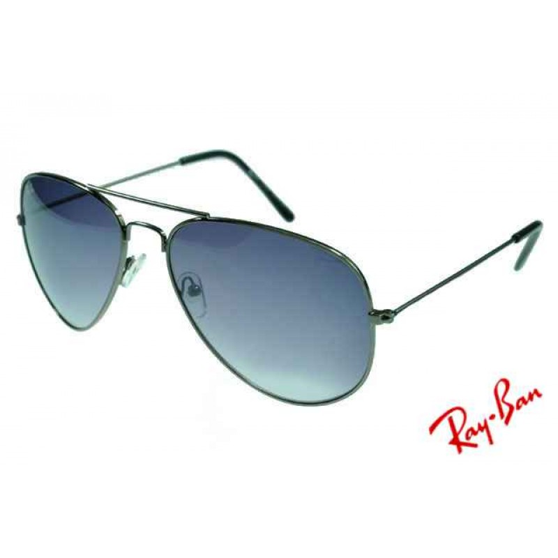 Ray Ban Aviator RB3025 Sunglasses Gunmetal Frame Grey Lens Copy adb06d7d4188