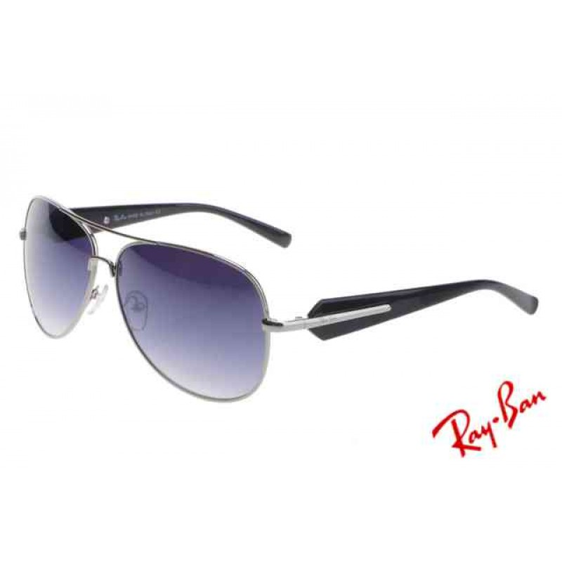 2957c5dc26 Ray Ban Aviator RB58012 Sunglasses Black Frame Purple Lens Copy