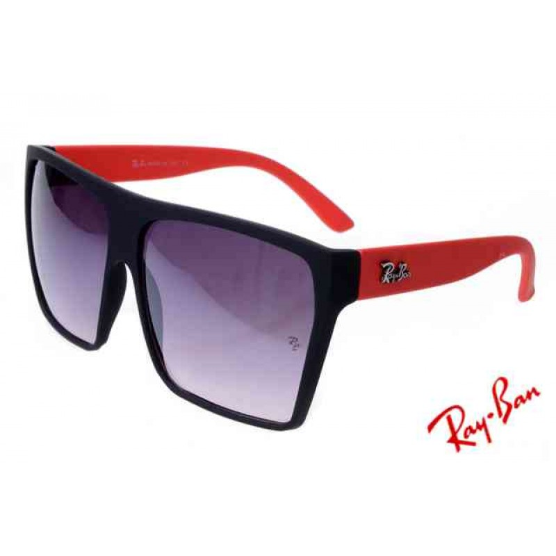 4014f3c1f2f38 Ray Ban Clubmaster RB2128 Sunglasses Red Black Frame Real