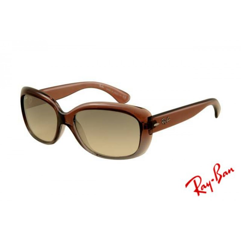 2a7703e3b1 Ray Ban Jackie Ohh RB4101 Sunglasses Brown Frame Green Polarized ...