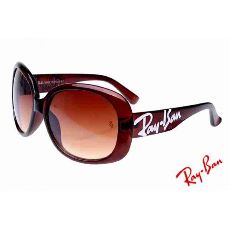 Ray Ban Jackie Ohh RB7019 Sunglasses Dark Red Frame Tawny Lens Store