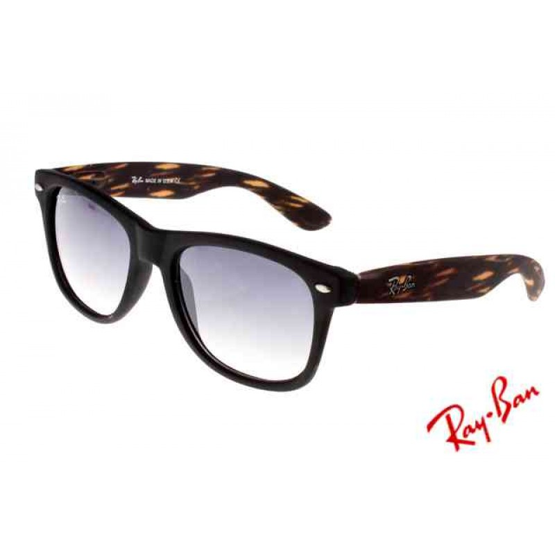 fbb8c59ef6994 free shipping ray ban rbzx300 sunglasses leopard grain black frame free  shipping 05a15 9f4f3