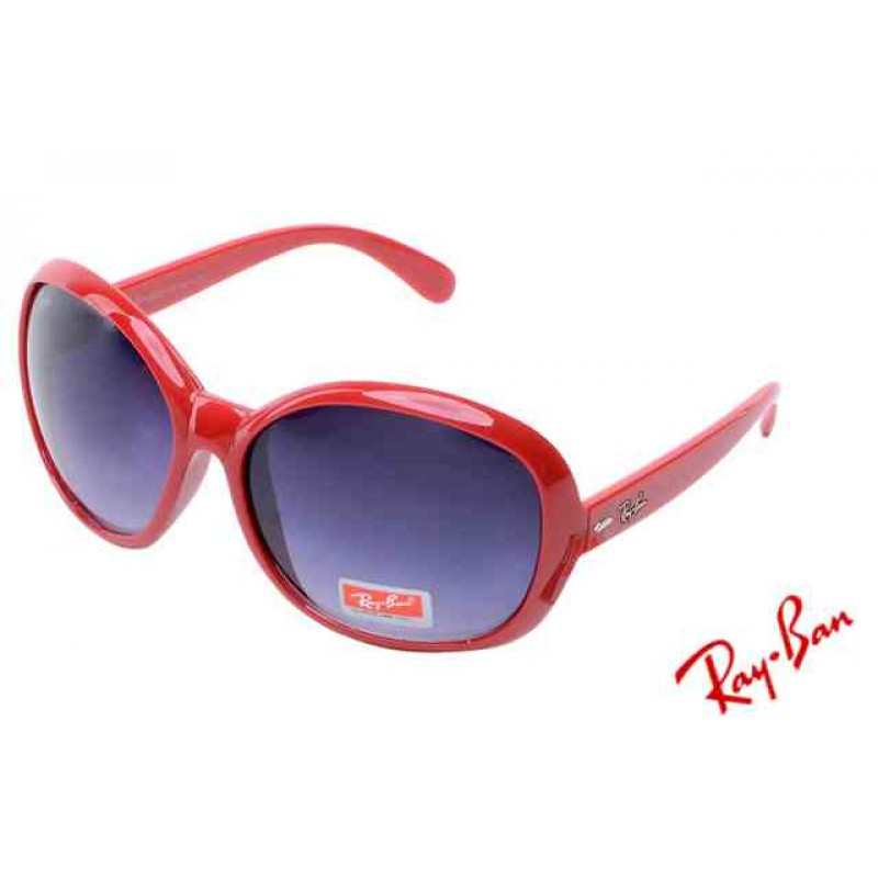 d0a7d3a0c3 Ray Ban Jackie Ohh II RB4098 Purple Red Sunglasses for Sale