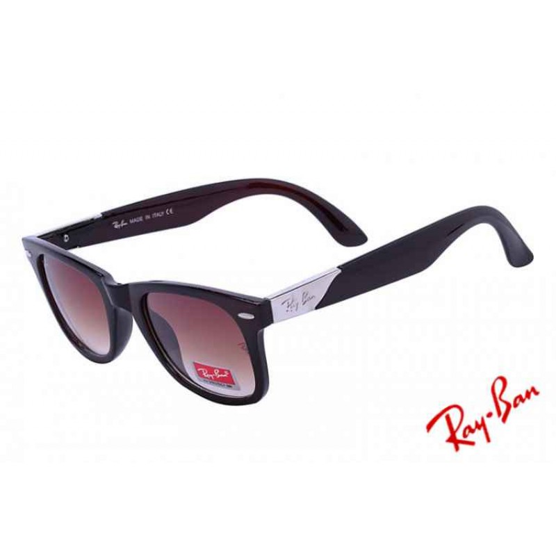 ray ban dealers near me s68a  Ray Ban Wayfarer Lite Force RB4195 Brown Sunglasses Ebay