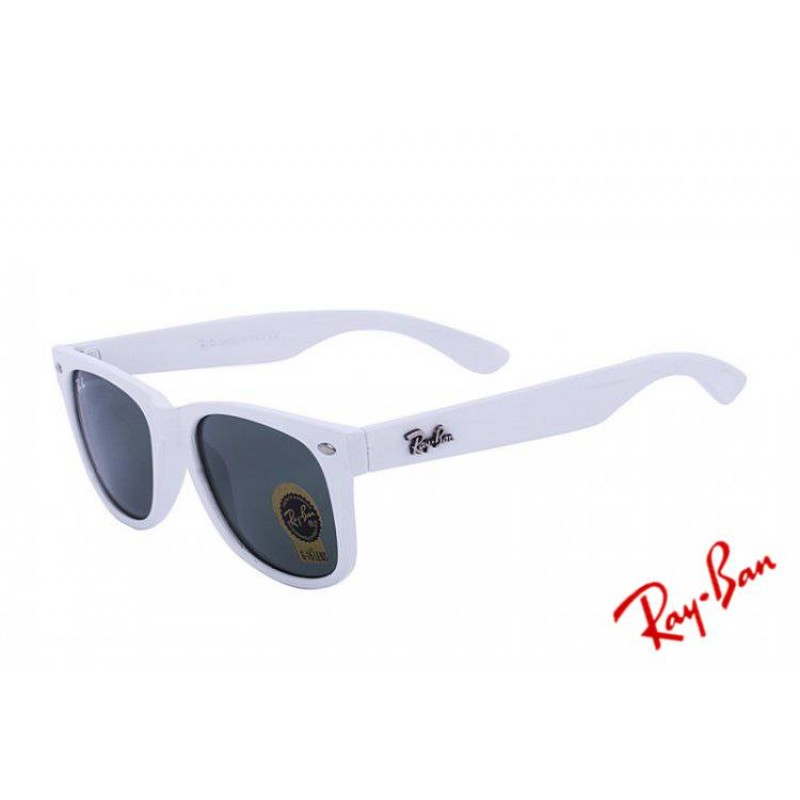 8652da9c8 ... hot ray ban wayfarer color splash rb2140 green white sunglasses cheap  f1995 45645