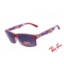 298b553f0d ... closeout ray ban wayfarer rare prints rb2140 purple red sunglasses for  sale fc088 cef07