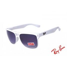 bc8fa77d696 Ray Ban Highstreet Gradient RB4147 Purple White Sunglasses Buy
