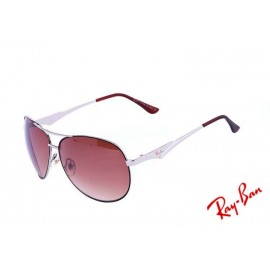 bb7c322056 Ray Ban Aviator Special RB3833 Brown White Sunglasses Buy
