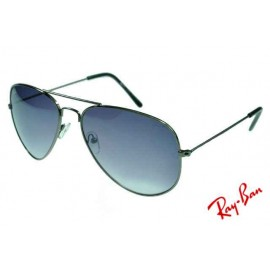 b27c445be0a Ray Ban Aviator RB3025 Sunglasses Gunmetal Frame Grey Lens Copy
