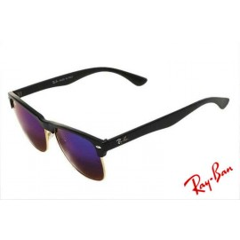 461f3af9304 Ray Ban Clubmaster Color Mix RB4175 Purple Sunglasses Outlet